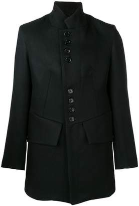 Ann Demeulemeester buttoned single-breasted coat