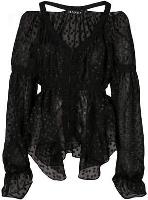 HANEY Juliette ruffle blouse