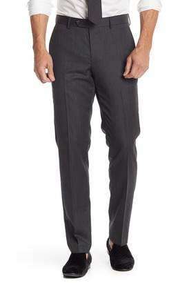 Nordstrom Twill Trim Fit Trousers