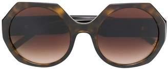 Dolce & Gabbana Eyewear tortoiseshell-effect sunglasses