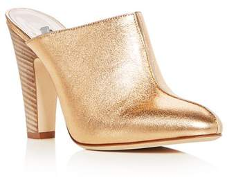 Sarah Jessica Parker Women's Rigby Leather High-Heel Mules
