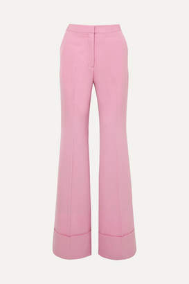 Stella McCartney Wool-twill Flared Pants - Pink