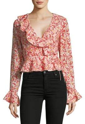 Finders Ditsy Printed Blouse