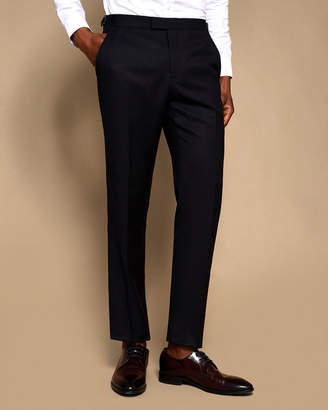 Ted Baker LEWEST Pashion slim jacquard wool suit trousers