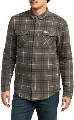RVCA Andrew Reynolds Lined Plaid Shirt