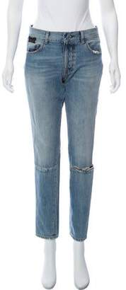 Taverniti So Ben Unravel Project Mid-Rise Distressed Jeans
