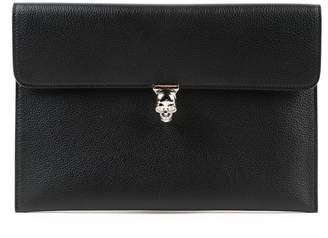 Alexander McQueen Skull Closure Envelope Clutch