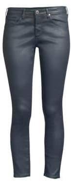 AG Jeans Super Skinny Coated Leggings
