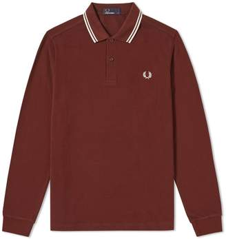 Fred Perry Authentic Long Sleeve Twin Tipped Polo