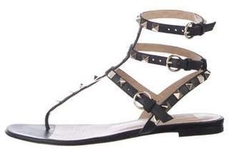 d6bfa5c15406 Valentino Rockstud Thong Sandals - ShopStyle