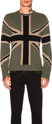 Valentino Flag Sweatshirt