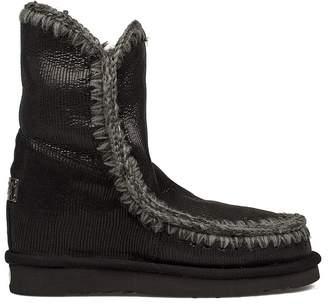 Mou Black Eskimo Low Boot