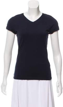 Giorgio Armani Short Sleeve V-Neck Top