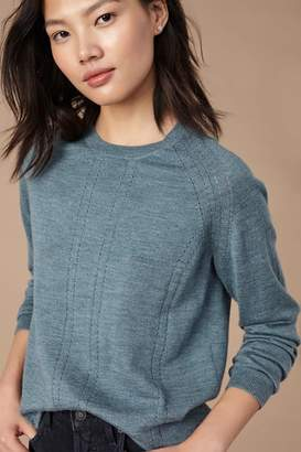 Amour Vert Pointelle Stitch Sweater