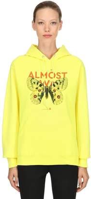 Monarch Butterfly Hooded Sweatshirt