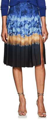 Altuzarra Women's Zurina Pleated Tie-Dyed Skirt