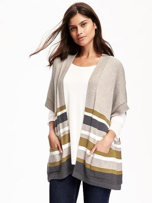 Open-Front Drapey Poncho for Women $34.94 thestylecure.com