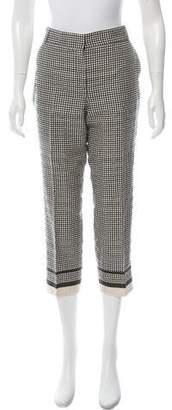 Lanvin Cropped Mid-Rise Pants