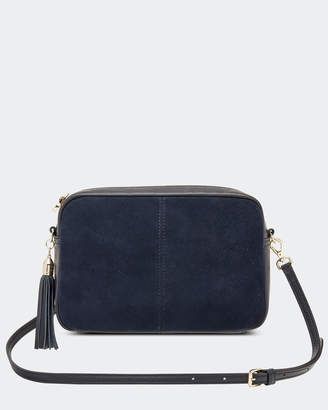Holly Suede Crossbody Bag