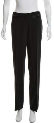John Galliano Mid-Rise Wide-Leg Pants