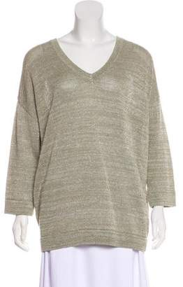 Brunello Cucinelli Knit Linen Sweater