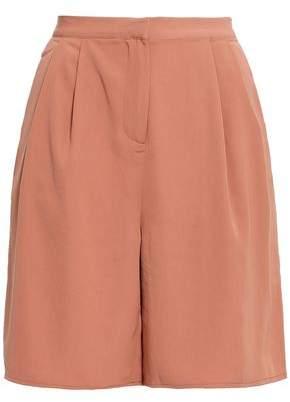 American Vintage Matiford Pleated Crepe Shorts