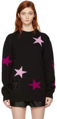 Givenchy Black Oversized Stars Sweater
