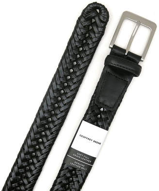Geoffrey Beene Braided Belt with Nickle Finish Buckle