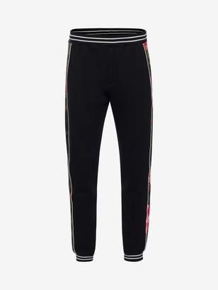 Alexander McQueen Painted Rose Sweatpants