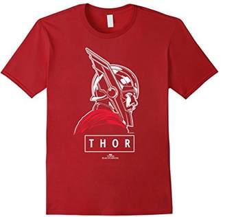 Marvel Thor Ragnarok God of Tonal Street View T-Shirt
