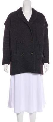 Diane von Furstenberg Financier Wool Coat