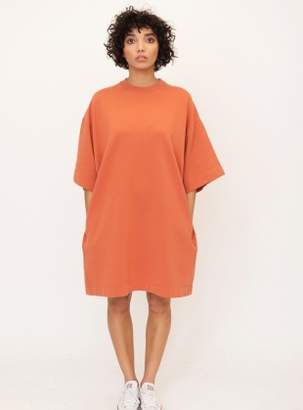 Beaumont Organic FRANCIS Organic Cotton Oversized T-Dress in Madder