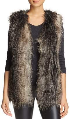Via Spiga Faux Fur Vest $185 thestylecure.com