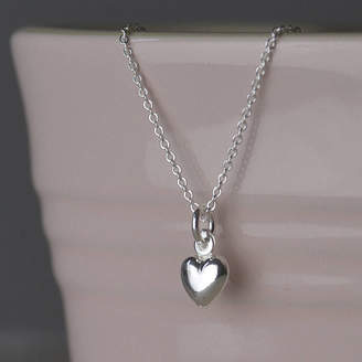 Tales From The Earth Silver Girl's Dolphin, Heart, Star Or Flower Necklace