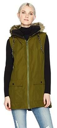 Volcom Junior's Longhorn Butter Twill Insulated Vest