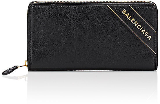 Balenciaga  Balenciaga Women's Arena Leather Blanket Continental Wallet