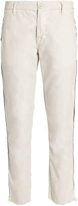 NSF Side Tape Ivory Chino Pants