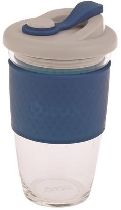 Oasis Eco-Cup Borosilicate Glass Navy 454ml