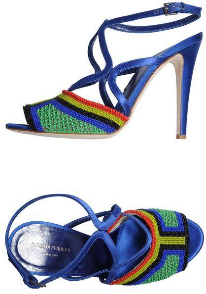 Alberta Ferretti High-heeled sandals