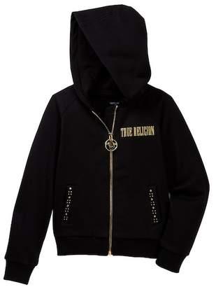 True Religion Studded Hoody (Toddler & Little Girls)