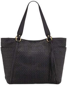 Cole Haan Gabriella Soft Weave Leather Tote Bag