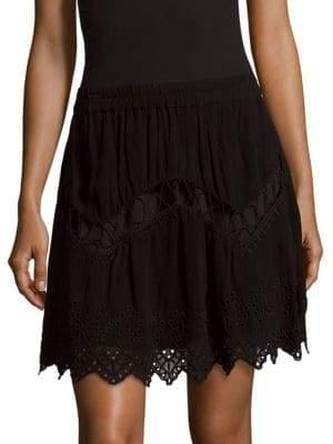 IRO Cutout Scalloped Skirt
