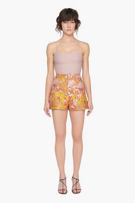 Genuine People High Rise Lace Up Back Shorts