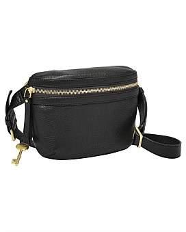 Fossil Brenna Black Belt Bag