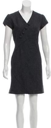 Altuzarra Short Sleeve Mini Dress