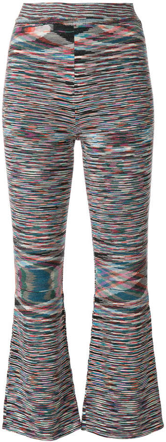 Missoni cropped knit trousers