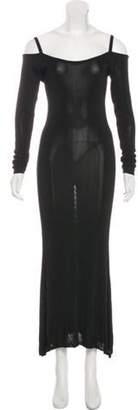 Sonia Rykiel Cutout Maxi Dress Black Cutout Maxi Dress