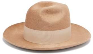 Federica Moretti Felt Hat - Womens - Beige