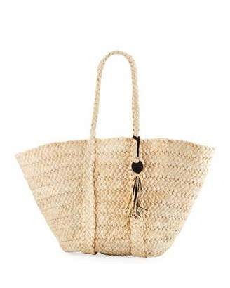 Seafolly Carried Away Beach Basket Tote Bag