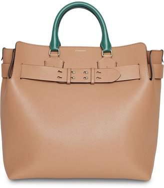Burberry The Large Tri-tone Leather Belt Bag